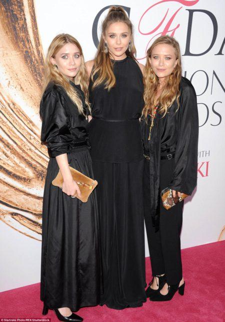 38 Mary-Kate Olsen,  Elizabeth Olsen and Ashley Olsen