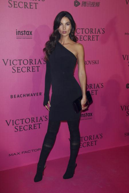 lily-aldridge-victoria-secret-fashion-show-after-party-red-carpet