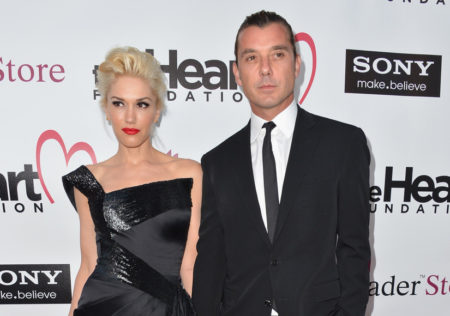 HOLLYWOOD,  CA - MAY 10: Singers Gwen Stefani and Gavin Rossdale arrive to The Heart Foundation Gala at Hollywood Palladium on May 10,  2012 in Hollywood,  California. (Photo by Alberto E. Rodriguez/Getty Images)