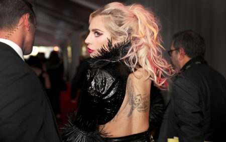 LOS ANGELES,  CA - FEBRUARY 12: Musician Lady Gaga attends The 59th GRAMMY Awards at STAPLES Center on February 12,  2017 in Los Angeles,  California. (Photo by Christopher Polk/Getty Images for NARAS)