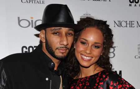 NEW YORK - MARCH 15: Recording artists Swizz Beatz and Alicia Keys attends the Gotham Magazine annual gala presented by Bing at Capitale on March 15,  2010 in New York City. (Photo by Bryan Bedder/Getty Images) *** Local Caption *** Swizz Beatz;Alicia Keys