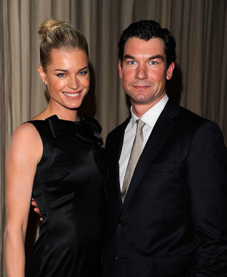 NEW YORK,  NY - NOVEMBER 14: Rebecca Romijn and Jerry O'Connell attend the 8th Annual CFDA/Vogue Fashion Fund Awards at the Skylight SOHO on November 14,  2011 in New York City. (Photo by Andrew H. Walker/Getty Images)