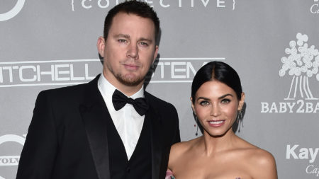 Channing Tatum and Jenna Dewan Tatum attends the 5th Annual Baby2Baby Gala at 3LABS on November 12,  2016 in Culver City,  California.