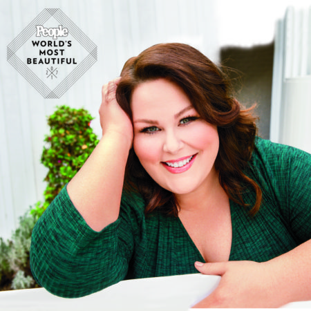 1F9312C0 Chrissy Metz photographed in Los Angeles,  CA,  on January 13,  2017. Photographer: Jim Wright Hair: Stephanie Hobgood/Hot Tools Pro/Exclusive Artists Management Makeup: Motoko Honjo Clayton/NARS/MAC Stylist: Jordan Grossman Clothing Credits: Look 1 (in fuschia top): Sweater - Torrid Top - Lane Bryant Jeans - Lane Bryant Boots - Avenue Earrings - Rebecca Minkoff Look 2 (in green dress): Dress - Torrid Tights - Lane Bryant Earrings - Charlie Lapson Look 3 (grey striped sweater): Sweater - Lane Bryant Jeans - Torrid Earrings - Charlie Lapson
